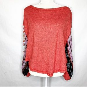 We The Free | Free People Waffle Knit Top Size XS